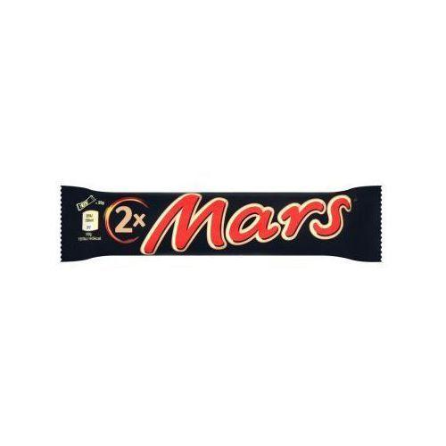 Baton z nugatowym nadzieniem oblany karmelem i czekoladą 70 g marki Mars