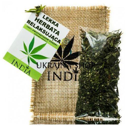Lekka ziołowa herbata relaksująca, marki India cosmetics