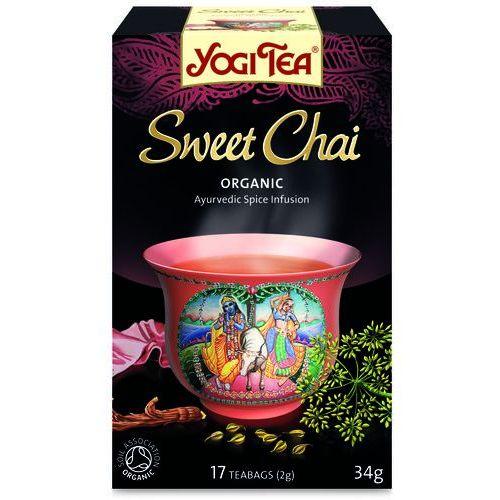 Herbata Słodkie Chai BIO (Yogi Tea) 17 saszetek po 2g (4012824400702)