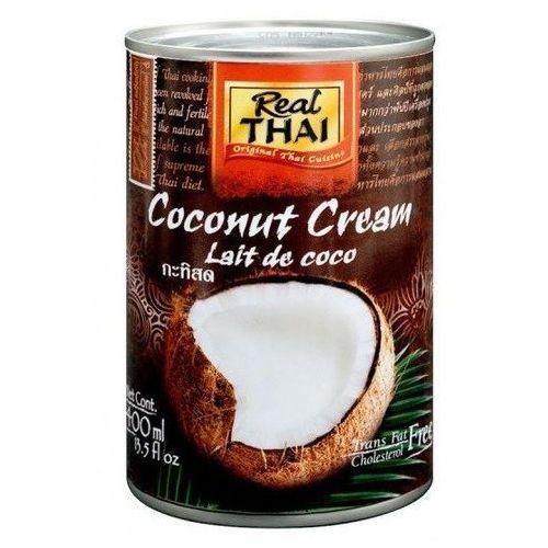 Real thai Krem kokosowy (95% wyciągu z kokosa) w puszce 400ml -