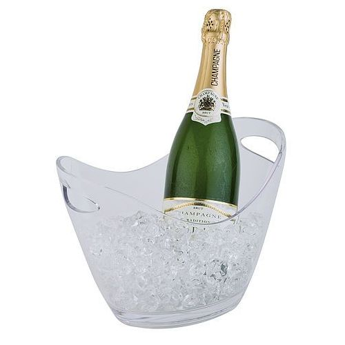 Aps Pojemnik na wino lub szampana z tworzywa 270x200x210 mm, przeźroczysty | , 36052