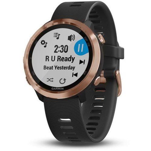 forerunner 645 music zegarek sportowy, rose gold 2020 monitory aktywności marki Garmin
