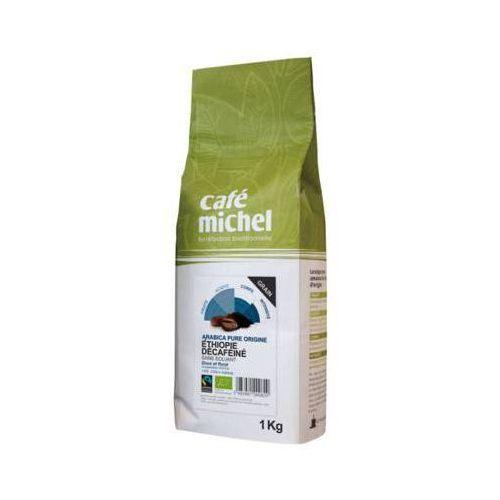 CAFE MICHEL 1kg Arabica Etiopia Kawa ziarnista Bezkofeinowa Bio