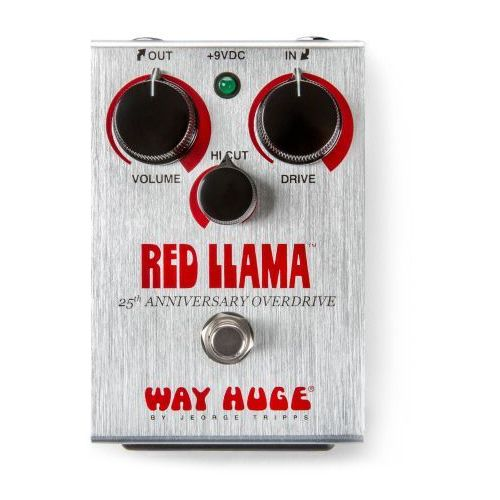 e-whe-206, way huge whe206 - red llama 25th anniversary overdrive, efekt gitarowy marki Dunlop
