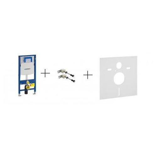 Geberit DuoFix Kompletny stelaż podtynkowy do misek WC wiszących, UP320, Sigma, H112 - 111.320.00.5+111.815.00.1+156.050.00.1 - produkt z kategorii- Stelaże i zestawy podtynkowe