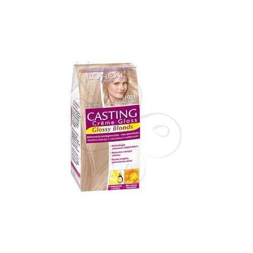 Casting Creme Gloss farba do włosów 1021 Jasny perłowy blond, L'Oreal Paris
