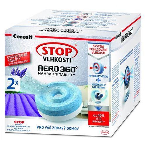 Ceresit Stop wilgoci AERO 360° tabletki 2 x 450g - oferta (05a14a770795460f)