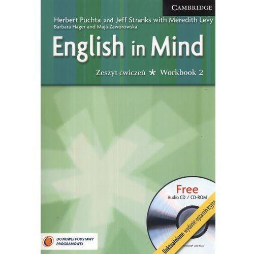 English in mind zeszyt ćwiczeń 2 uaktualnione wydanie egzaminacyjne + CD (2012)
