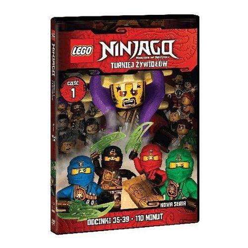 Lego ninjago, turniej żywiołów, część 1 (odcinki 35-39) marki Galapagos