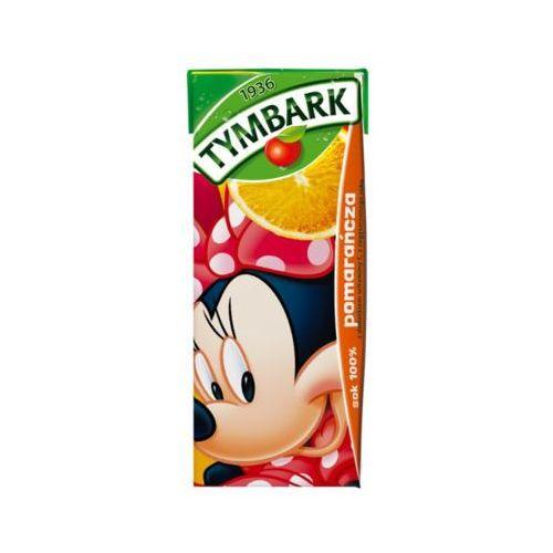 200ml pomarańcza 100% sok marki Tymbark