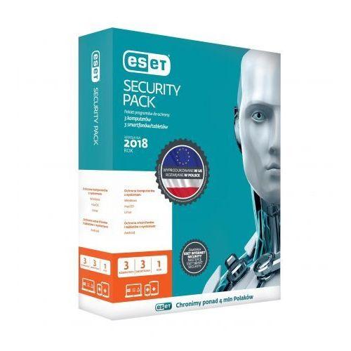 ESET Security Pack dla 3 komputerów i 3 urządzeń mobilnych, 24 m-cy, BOX