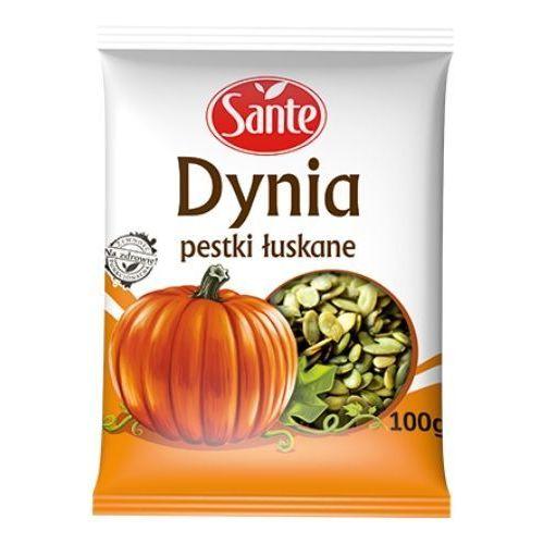 Pestki dynii łuskane 100 g marki Sante