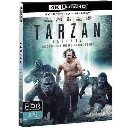David yates Tarzan: legenda (4k ultra hd) (blu-ray) - darmowa dostawa kiosk ruchu