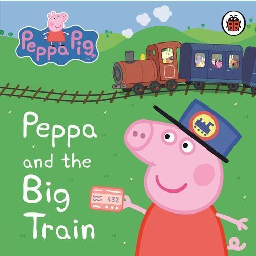 PEPPA PIG: PEPPA AND THE BIG TRAIN MY FIRST STORYBOOK bb, Penguin