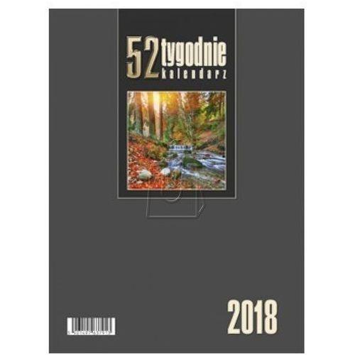 Kalendarze Kalendarz biurkowy pionowy 52t bordowy 2017