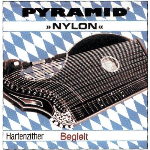 Pyramid (663413) struny do cytry nylon. cytra o rezonansie harfowym/powietrznym - komplet
