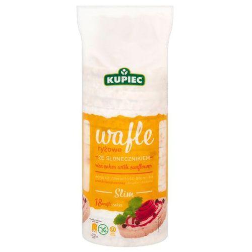 Kupiec Wafle ryżowe ze słonecznikiem slim a'18 84 g (5902172001937)