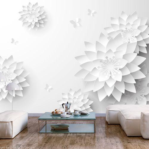Artgeist Fototapeta - orientalne kwiaty