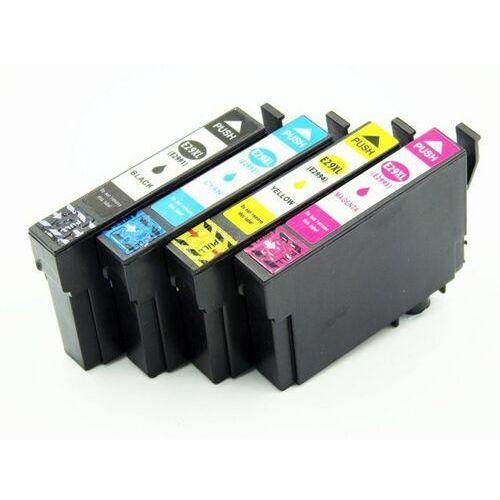 Zestaw tuszy 29XL do Epson XP235 XP332 XP335 XP432 XP435 (T2991 2 3 4 ) CMYK / 18,2ml + 14ml CMY / zamiennik Epson 29XL / DD-Print, kolor Zestaw
