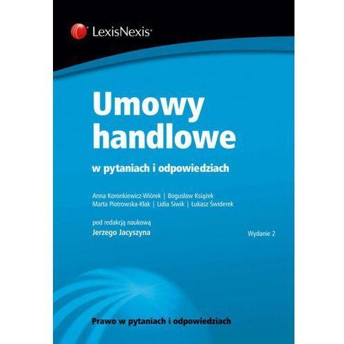 Umowy handlowe w pytaniach i odpowiedziach - Jerzy Jacyszyn (9788327800657)