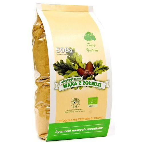 Mąka z żołędzi eko 500g marki Dary natury