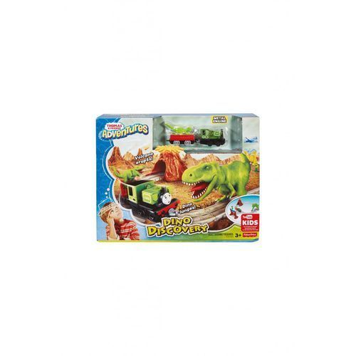 Fisher price Przygoda w dino-parku kolejka 1y33g2 (0887961427905)