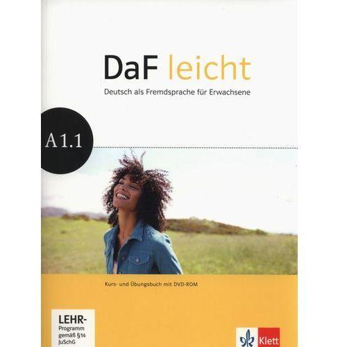 Daf Leicht: Kurs-und Ubungsbuch A1.1 MIT Dvd-rom (2014)
