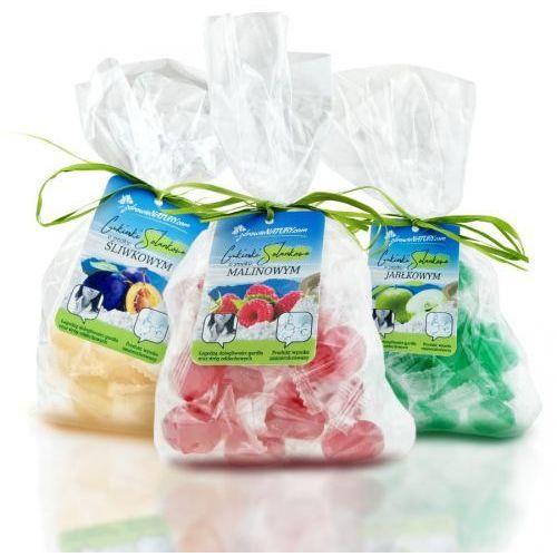 Cukierki solankowe - zestaw 10 smaków ( opakowanie przeźroczyste ) marki Zdrowie natury