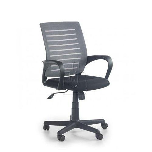 Fotel pracowniczy Halmar Santana popielaty - gwarancja bezpiecznych zakupów - WYSYŁKA 24H