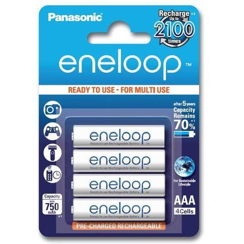Akumulatorki PANASONIC Eneloop AAA 750mAh, towar z kategorii: Akumulatory do kamer cyfrowych