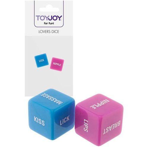 Erotyczne kości do gry dla par lovers dice 6010143 marki Toy joy