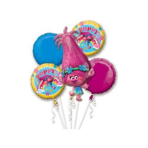 Bukiet balonów foliowych trolle - 1 kpl. marki Amscan
