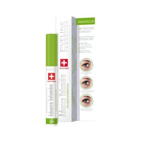 Eveline 10ml advance volumiere 3w1 skoncentrowane serum do rzęs marki Eveline cosmetics