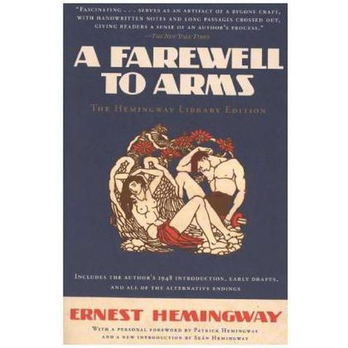 a book review of a farewell to arms a war novel by ernest hemingway A farewell to arms ernest hemingway ny: charles schribner's sons, 1995 from the 1929 original isbn # 0-684-80146-9.