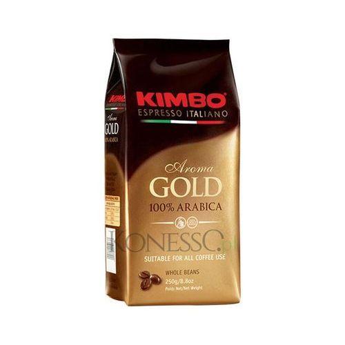 aroma gold 250g kawa ziarnista marki Kimbo