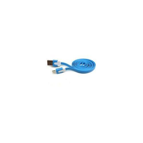 Kabel micro USB uniwersalny (niebieski), 5901737201591