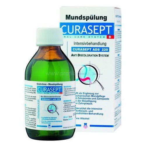 Curaprox Curasept ADS 220 antybakteryjny płyn do płukania jamy ustnej przed i po zabiegach chirurgicznych + do każdego zamówienia upominek.