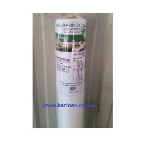 Agrokarinex Agrowłóknina wiosenna pp 17 g/m2 biała 1,1 x 100 mb.