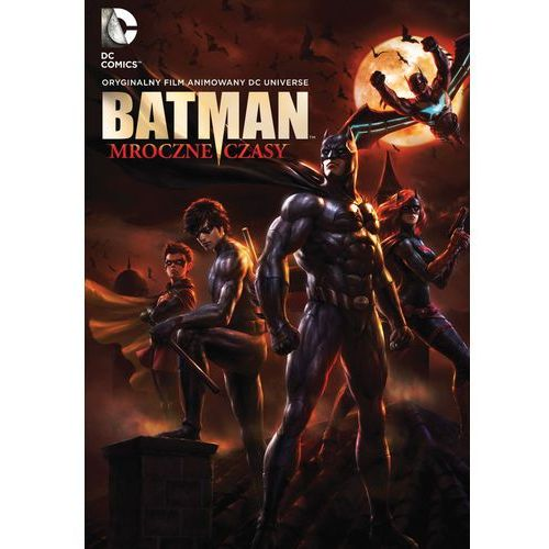 Batman: Mroczne czasy (DVD) - Jay Oliva OD 24,99zł DARMOWA DOSTAWA KIOSK RUCHU (7321909340558)