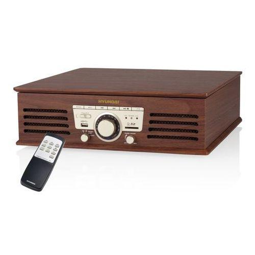 Artykuł Retro Gramofon Hyundai RT190SURIP (2W/ FM/ USB)- TOWAR ZAMÓWIONY DO 17:00 WYŚLEMY JESZCZE DZISIAJ!!! z kategorii gramofony