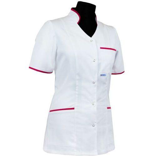 Dlapacjenta.pl - odzież medyczna Bluza medyczna dla pielęgniarki 011+ stójka leżąca (wypustka lub lamówka)