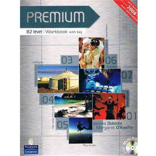 Premium B2 - Workbook (Key) Plus Multi-Rom [Zeszyt Ćwiczeń Z Kluczem Plus Multi-Rom]
