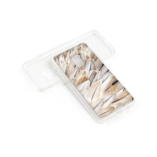 etuo Foto Case - Samsung Galaxy S9 Plus - etui na telefon Foto Case - białe pióra, kolor biały
