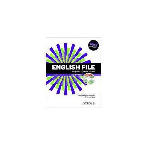English File Beginner Student's Book + DVD +iTutor - Praca zbiorowa
