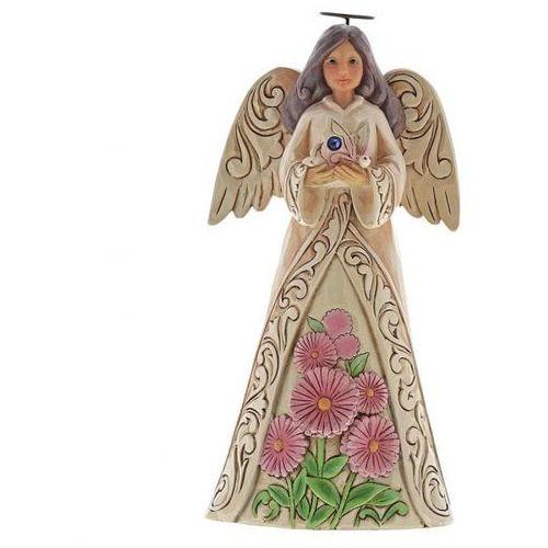 Anioł wrzesień monthly angel figurine september angel 6001570 , pamiątka narodzin, chrztu figurka dewocjonalia marki Jim shore