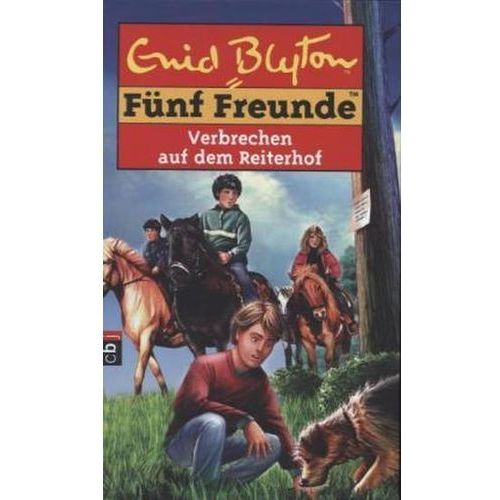 Fünf Freunde - Verbrechen auf dem Reiterhof Blyton, Enid