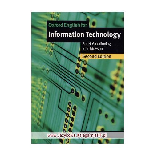 Oxford English for Information Technology (New Edition): Student's Book (podręcznik), Oxford University Press
