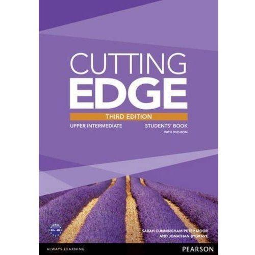 Cutting Edge Upper Intermediate Students' Book with DVD and, oprawa miękka