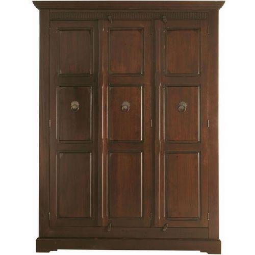 Colonial Cabana Szafa 3-drzwiowa z Drewna Topolowego 211x161cm (2144), Kare Design