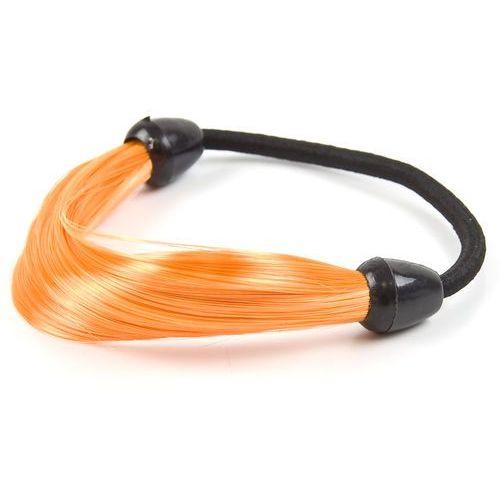 Gumka włosy owijka pomarańczowa - pomarańczowa marki Cloe